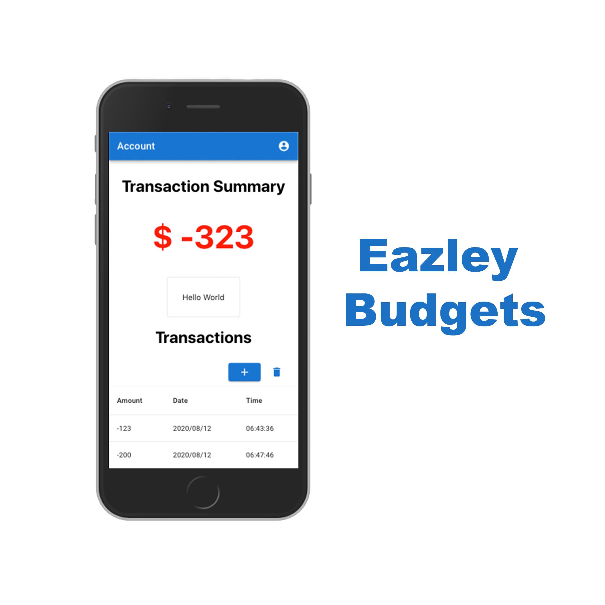 Eazley Budgets
