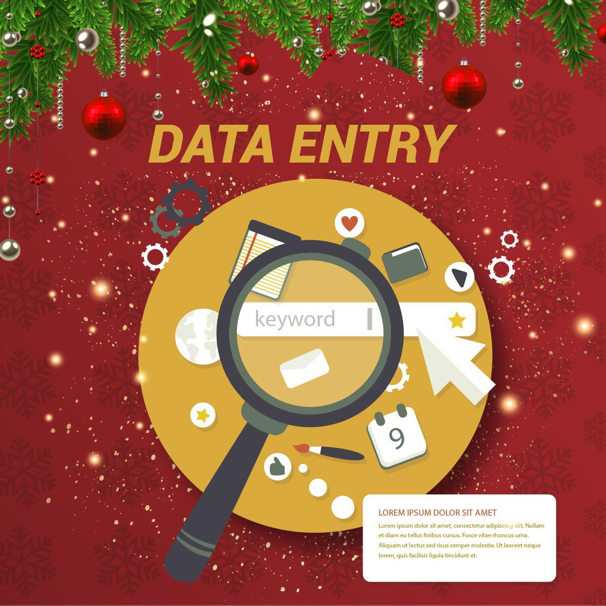 Data Entry Gig Template