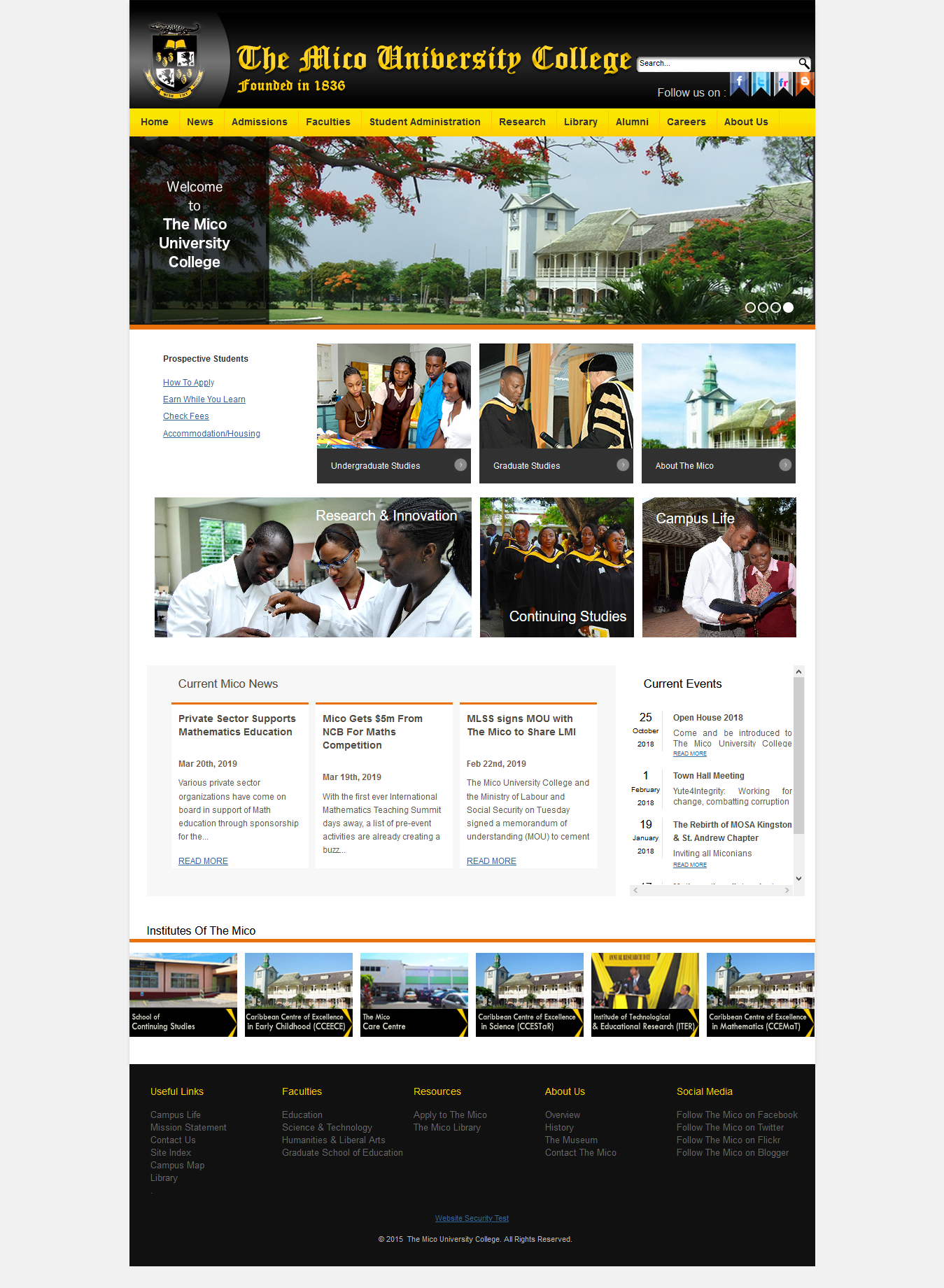 The Mico Website Redesign
