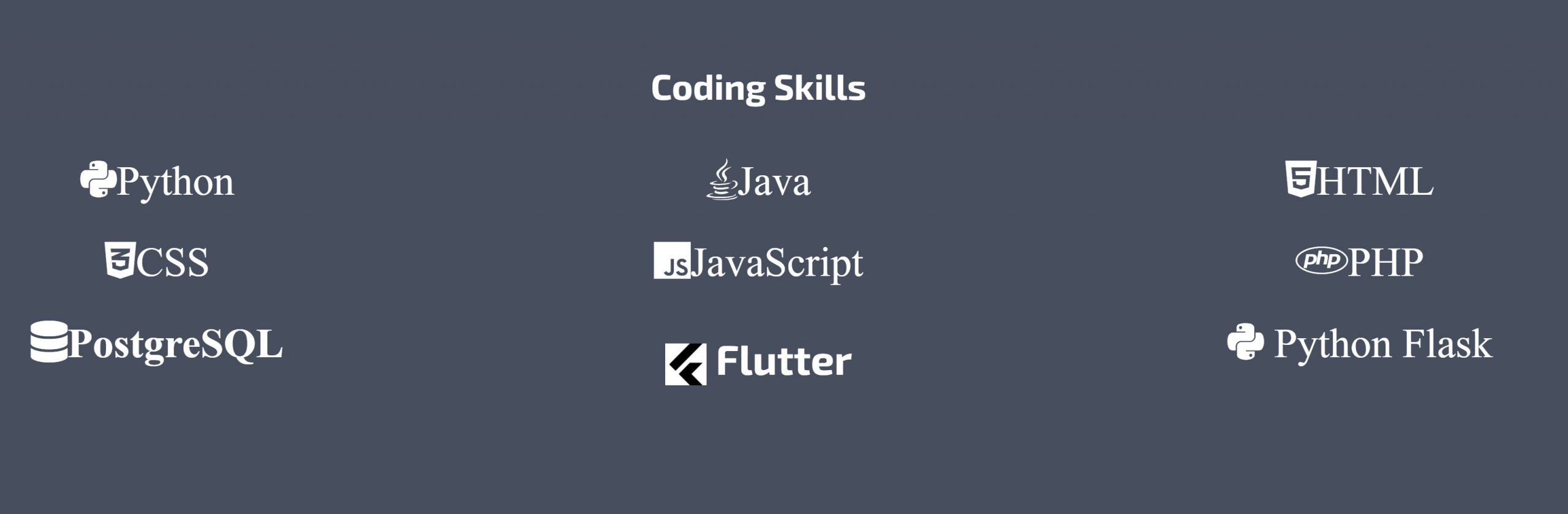 Programming skills and more